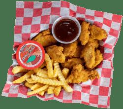 wing dinner